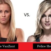 Paige VanZant vs Felice Herrig, booked @ UFC® Newark