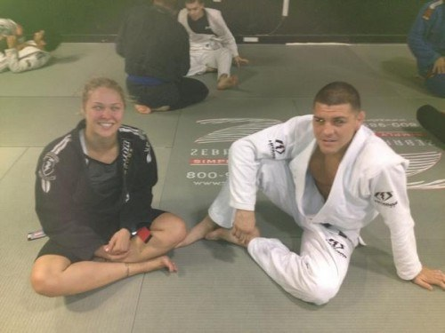 "Nick Diaz on Ronda Rousey: ""She's a great friend."""