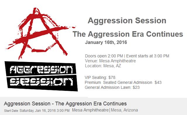 Aggression Session MMA The Aggression Era Continues