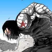 Super Soldiers Clash - Winter Soldier Vs Guile