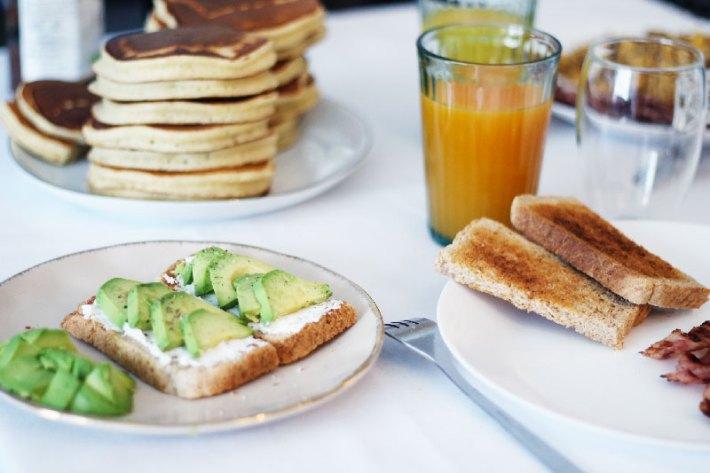 Pancakes pour brunch