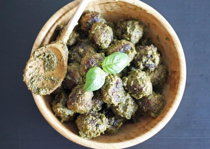 Recette des boulettes au pesto par fannyalbx.com - blog cuisine