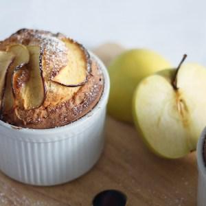 Recette du soufflé et moelleux aux pommes