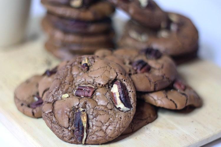 Cookies brownie sur fannyalbx.com