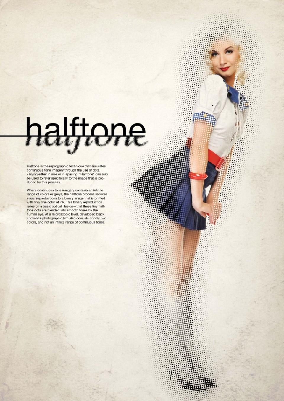 Tuto-Photoshop-Effet Halftone-Blographisme