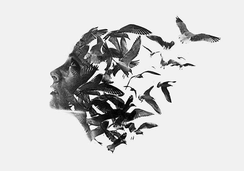 Tuto Photoshop : Créez une double exposition comme l'artiste Aneta Ivanova