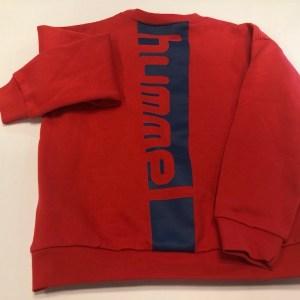 hummel trøje rød