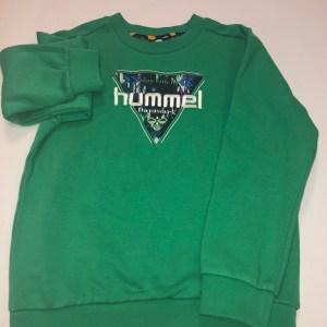 hummel trøje grøn