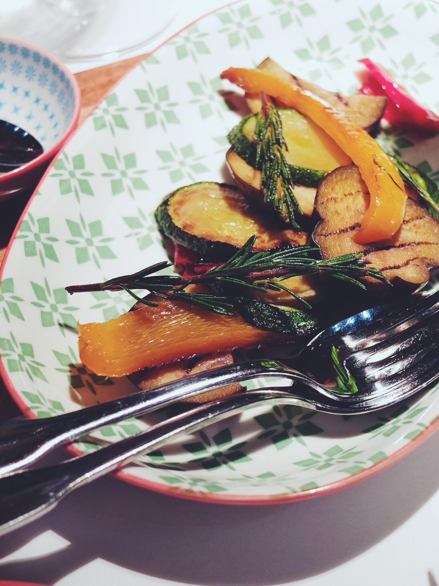 Anipasto veggies