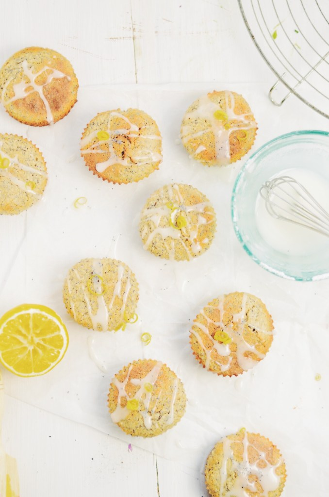 coconut and lemon poppy seed muffins - fannythefoodie