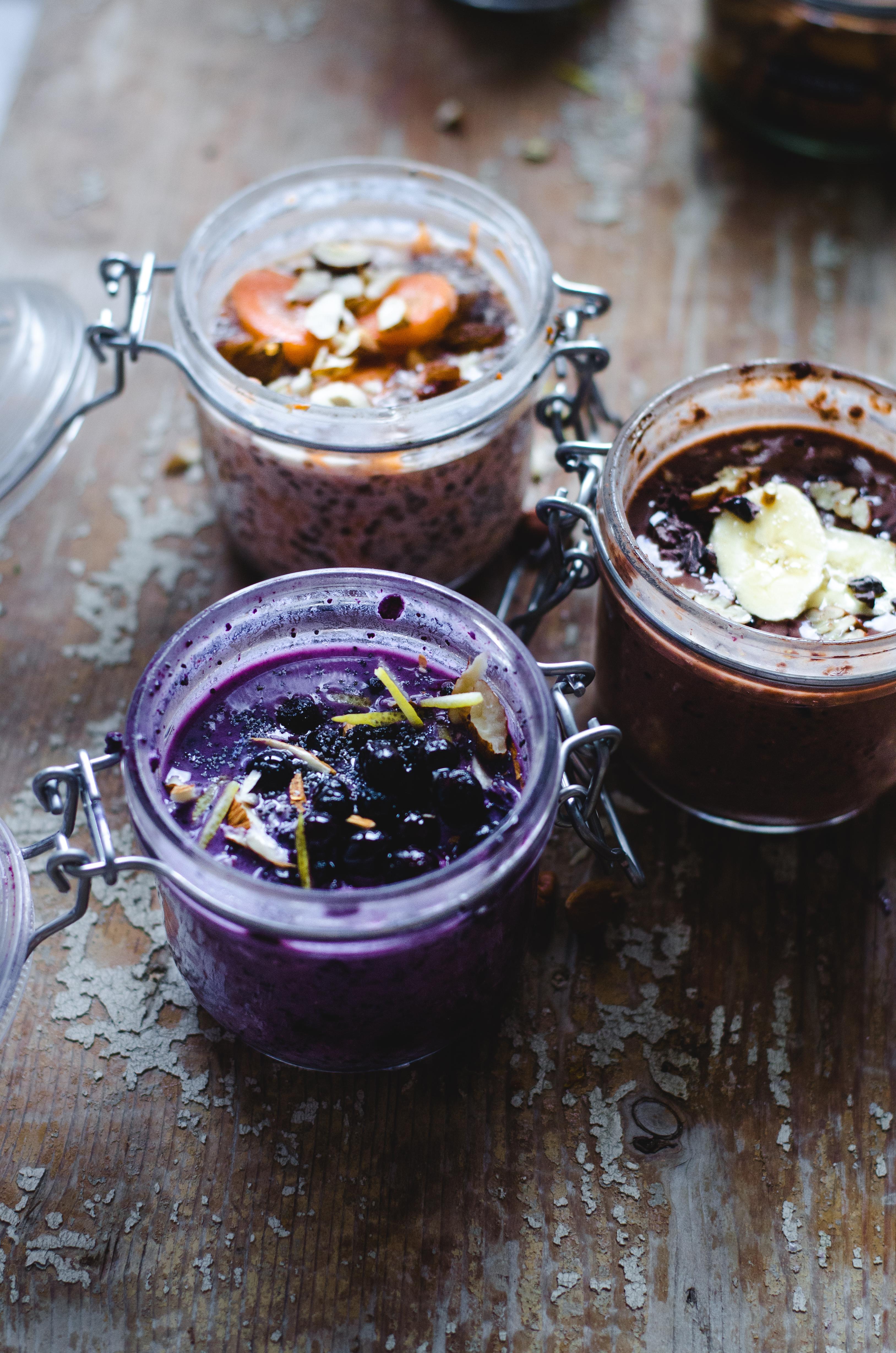 Vegan Overnight Breakfasts – 3 Ways