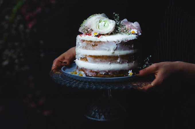 Vegan Naked Layer Cake – a first, that turned out AMAZING!