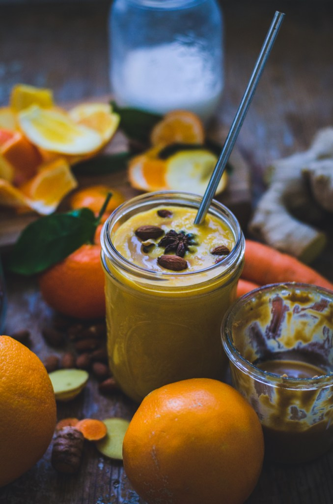 Carrot Smoothie / Clementine & Orange