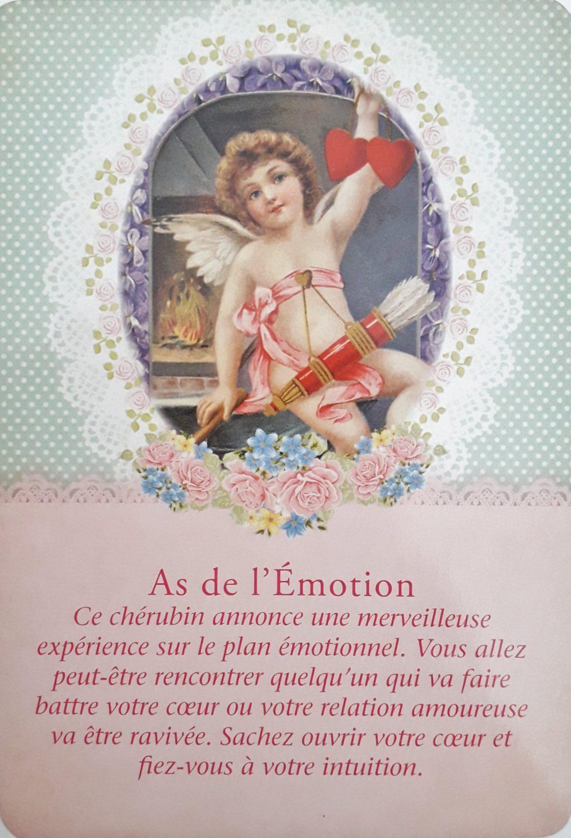Tarot des Anges GardiensAs de l'Emotion