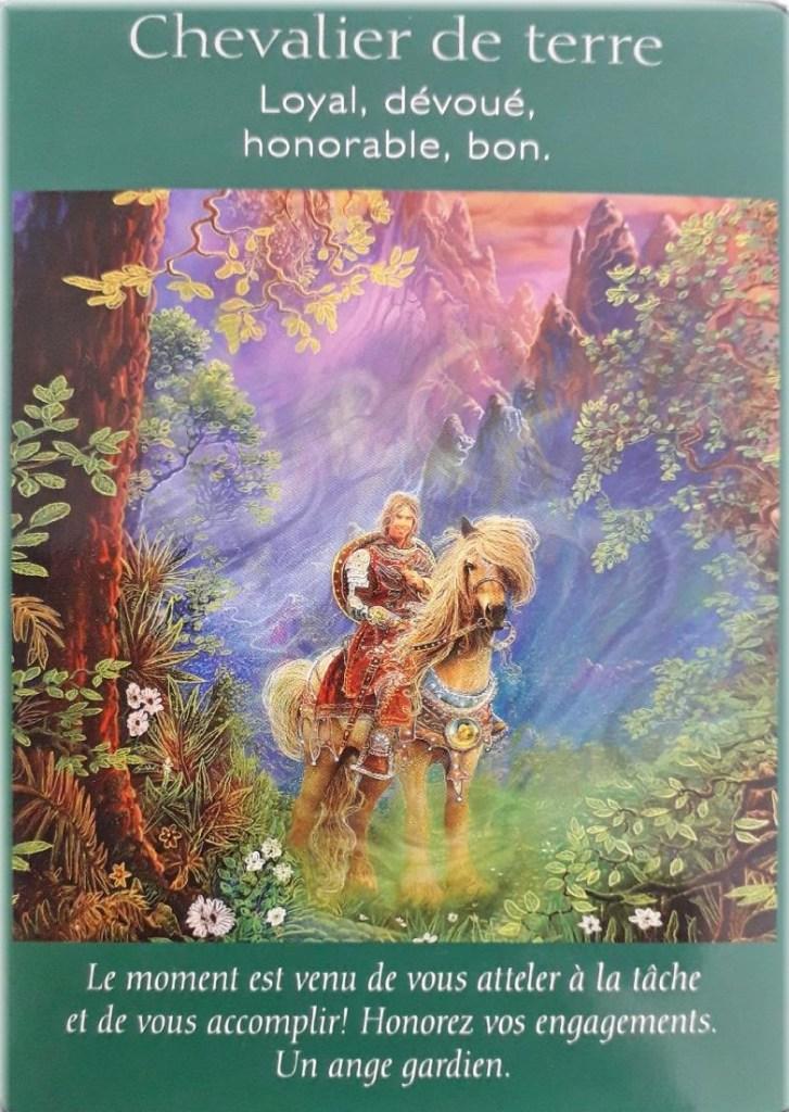 Horoscope tarot chevalier de terre