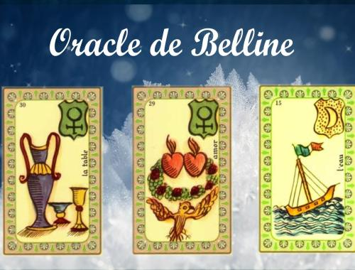 Tirage Oracle de Belline