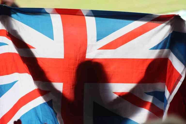 english flag london 2012