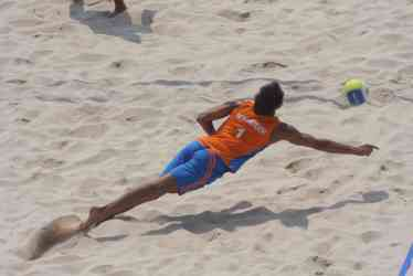 beachvolley Beijing 2008 nummerdor