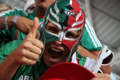 mexican fan footbal final londen 2012