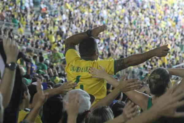 maracana brazil football final 2016 rio neymar