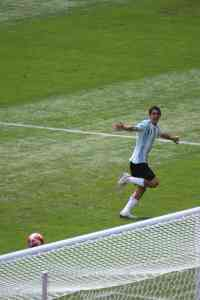 Angel di maria football Beijing final olympic games 2008
