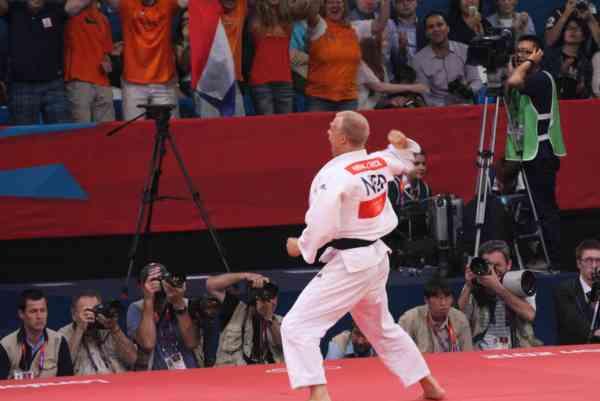 Henk Grol London 2012 Judo Olympics