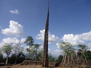 Konso Village generation pole