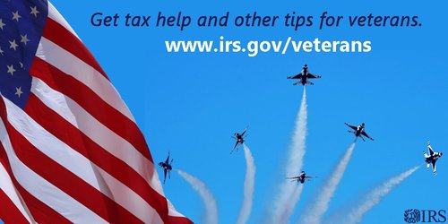MilitaryAppreciationMonth IRS veterans