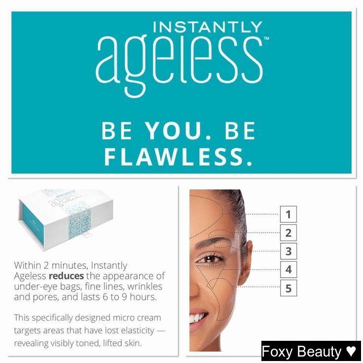 jeunesse beauty instantlyageless skincare
