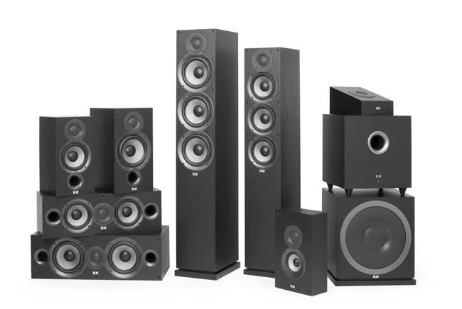 Hometheater speakers