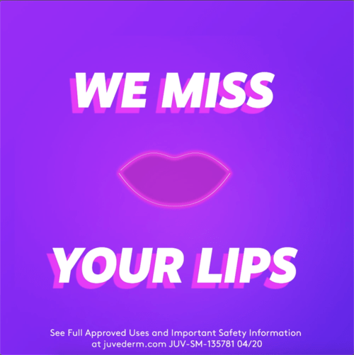 We miss your lips