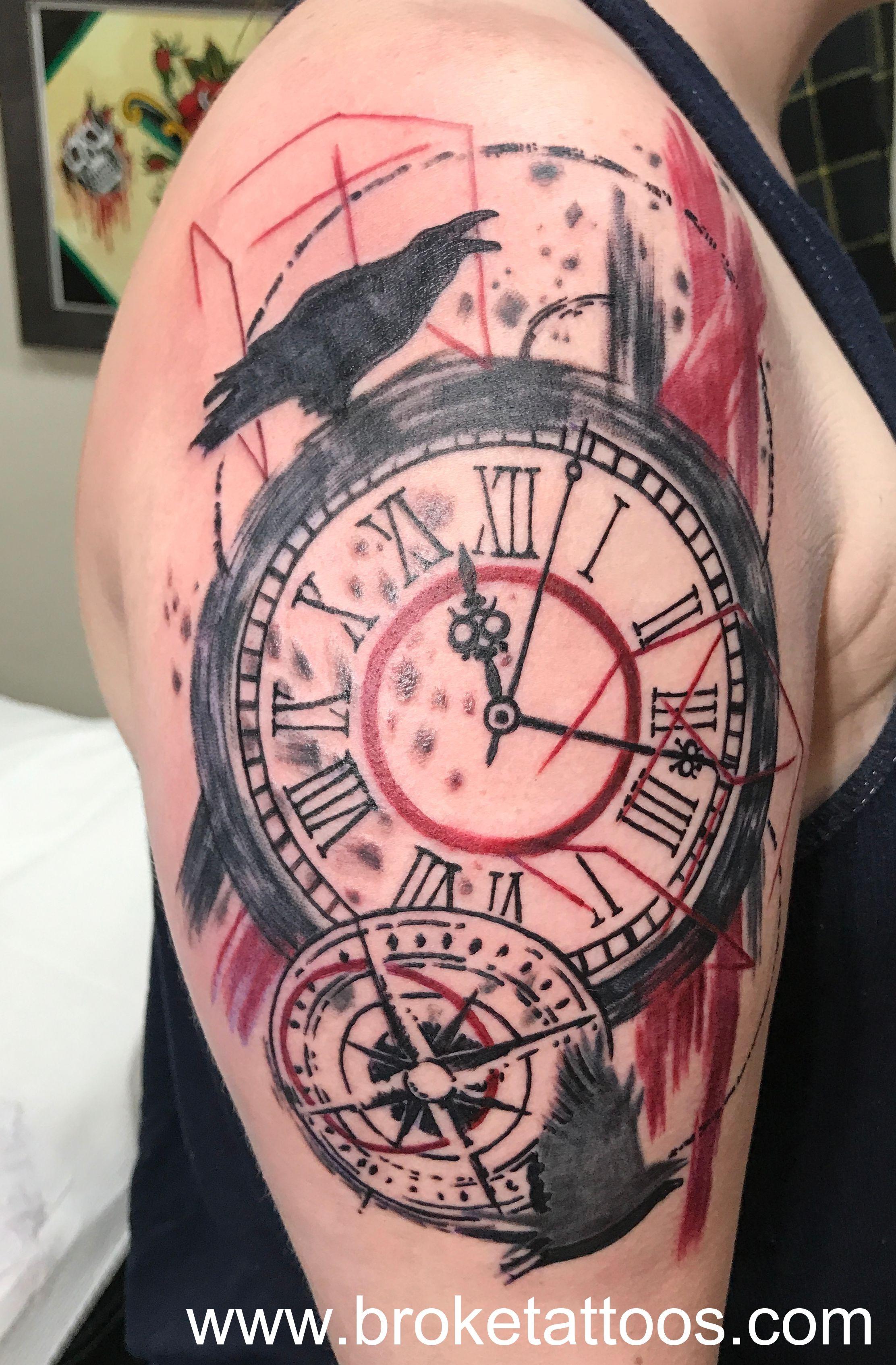broketattoos viciousinksh ink tattoos michigantattooer trashpolka inked tattooedwomen tattooartist