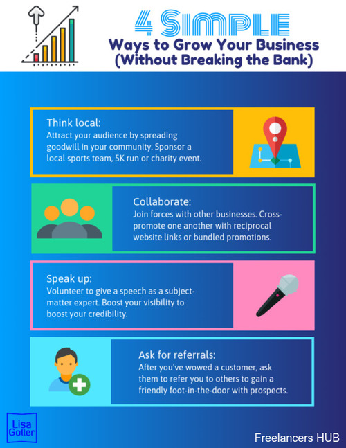 4 Simple Ways to Grow Your Business (Without Breaking the Bank)