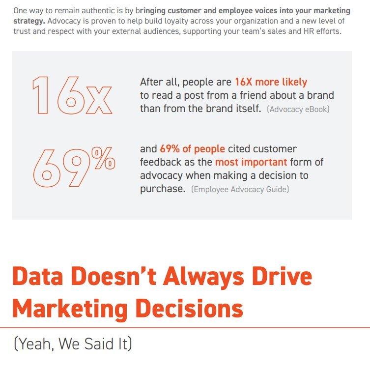 [Infographie] - Réflexions de marketeurs, influenceurs sur la situation du #Marketing en 2020  via   #SocialMedia #MarketingDigital #Influence
