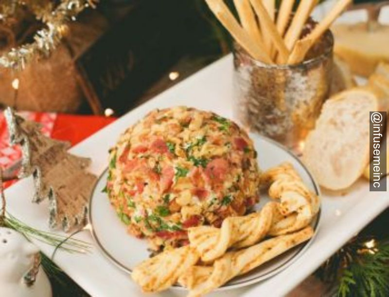 infusemeinc appetizer cheeseball tailgating recipes yummy lebanon hanover uppervalley boston newyork