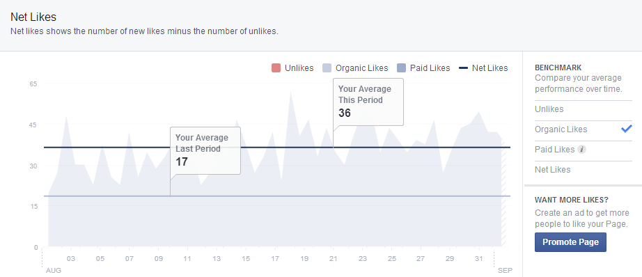Facebook auto poster stats