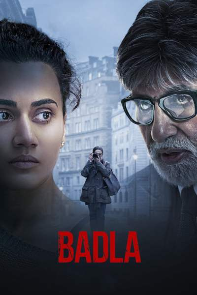 "Poster for the movie ""Badla"""