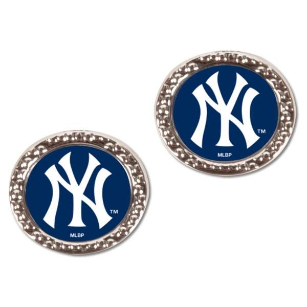 Mlb York Yankees Wincraft Women' Post Earrings