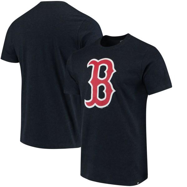 Mlb Boston Red Sox '47 Club T-shirt - Navy