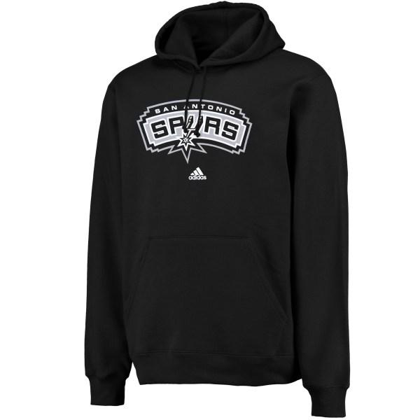 Nba Adidas San Antonio Spurs Logo Pullover Hoodie
