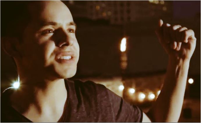 David Archuleta Up All Night UAN clip Screencap credit Angel Warby