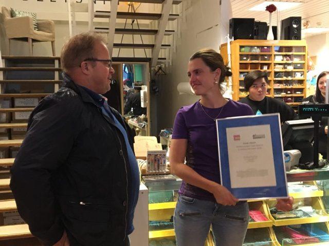 Morten Torp, Salgs- og markedsdirektør i AVIS og Budget og Trude Nistad