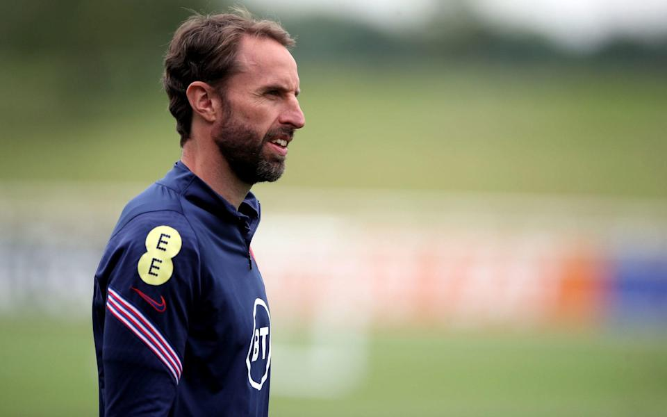 Gareth Southgate follows Eddie Jones' lead in referring to substitutes as 'finishers' - PA