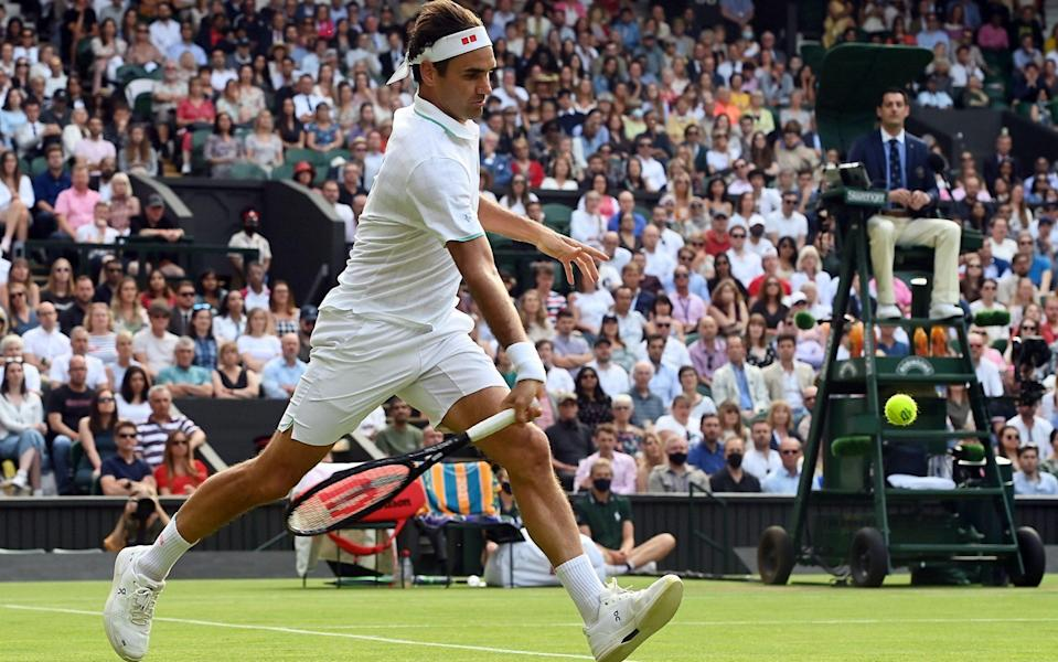 Federer went up the gears during his impressive win over Richard Gasquet - SHUTTERSTOCK