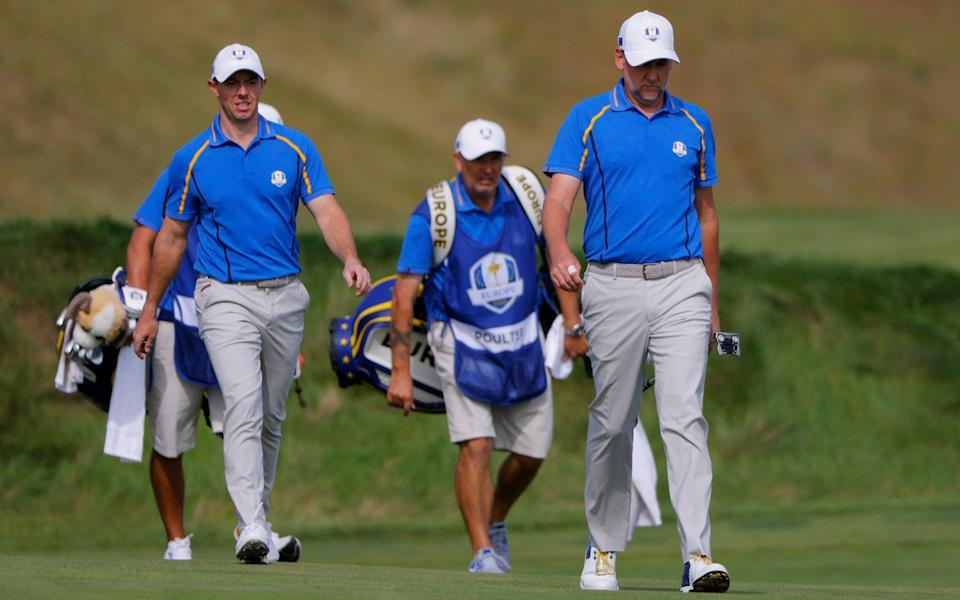 Blundering Rory McIlroy and Ian Poulter succumb to dismal defeat - then claim they played 'quite well' - REUTERS