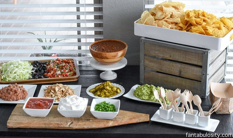 nacho bar ideas the