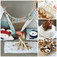 Camping Birthday Party Ideas for Indoors - Fantabulosity