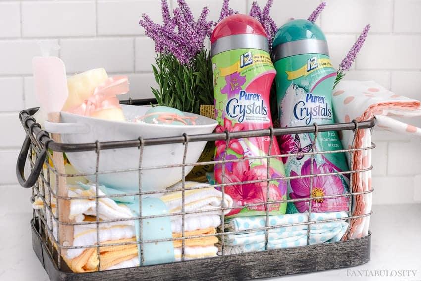 DIY Housewarming Gift Basket Fantabulosity