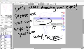 How To Draw Alamond Step 10