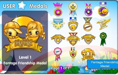 New medal